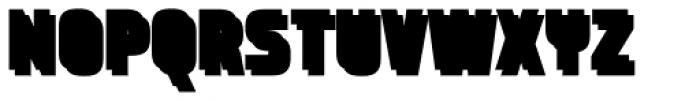 Expreso Sombra 1 Bloque Font UPPERCASE