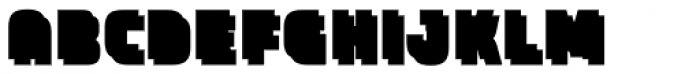 Expreso Sombra 1 Bloque Font LOWERCASE