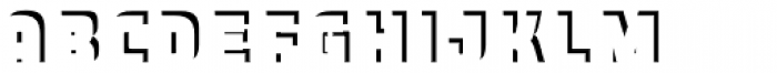 Expreso Sombra 3 Simple Font LOWERCASE