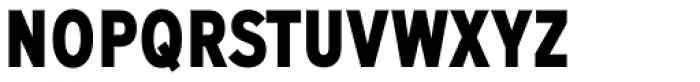 Expressway Condensed ExtraBold Font UPPERCASE
