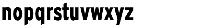 Expressway Condensed ExtraBold Font LOWERCASE