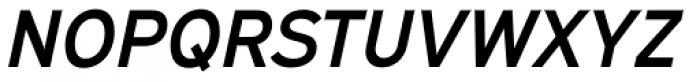 Expressway SemiBold Italic Font UPPERCASE