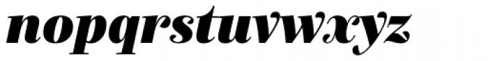 Exquise FY Black Italic Font LOWERCASE