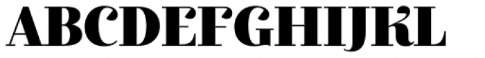 Exquise FY Black Font UPPERCASE