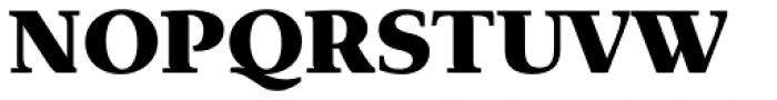 Exquisite Pro Black Font UPPERCASE