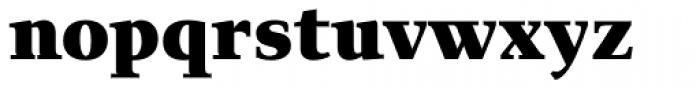 Exquisite Pro Black Font LOWERCASE