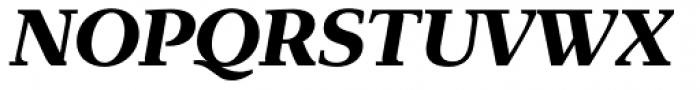 Exquisite Pro Bold Italic Font UPPERCASE