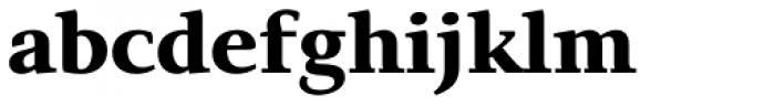 Exquisite Pro Bold Font LOWERCASE