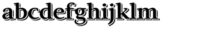 Exquisite Pro Echo Font LOWERCASE