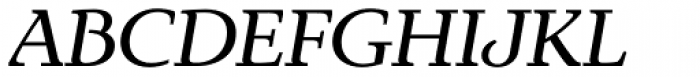 Exquisite Pro Italic Font UPPERCASE