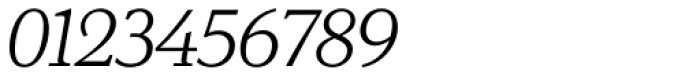 Exquisite Pro Light Italic Font OTHER CHARS