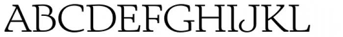 Exquisite Pro Light Font UPPERCASE