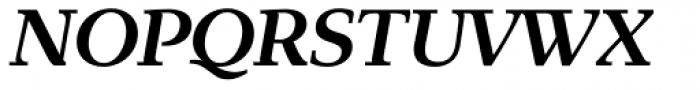Exquisite Pro Medium Italic Font UPPERCASE