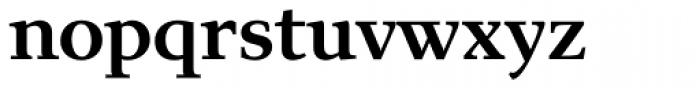 Exquisite Pro Medium Font LOWERCASE