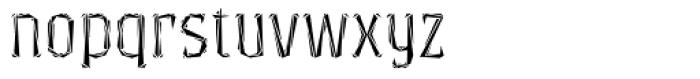 Exvoto Masque Font LOWERCASE