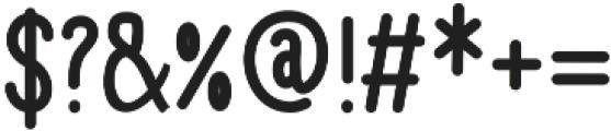 EyesJungleBold otf (700) Font OTHER CHARS