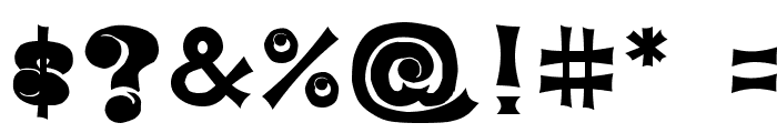 EYEfont Font OTHER CHARS
