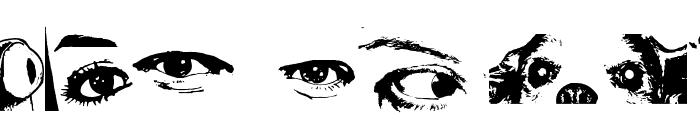 Eye Spy Font OTHER CHARS