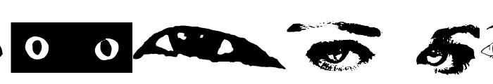 Eye Spy Font LOWERCASE