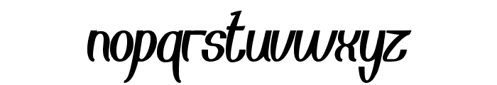 Eyes Believer Font LOWERCASE