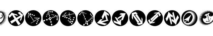 EyesAndSoOn Font LOWERCASE