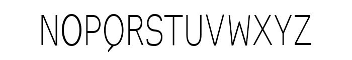 EyevoxSans Regular Font UPPERCASE