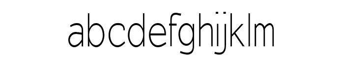 EyevoxSans Regular Font LOWERCASE