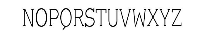 EyevoxSerif Regular Font UPPERCASE