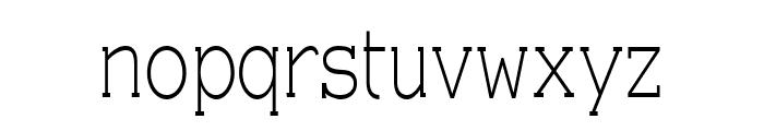 EyevoxSerif Regular Font LOWERCASE