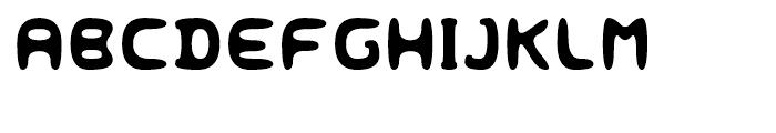 Eyadish Regular Font UPPERCASE