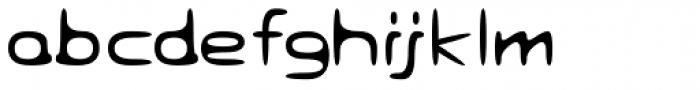 Eyadish Thin Font LOWERCASE