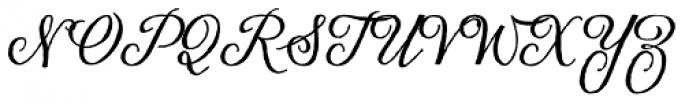 Eydis Cyrillic Font UPPERCASE