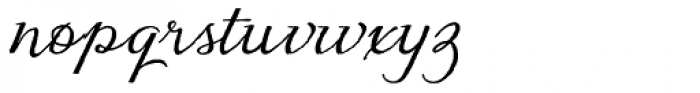 Eydis Cyrillic Font LOWERCASE