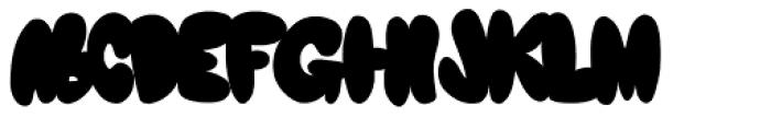 Eyebets Font LOWERCASE
