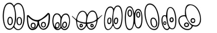 Eyes4Bets Font UPPERCASE