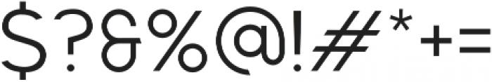 F. O. T. R. otf (400) Font OTHER CHARS