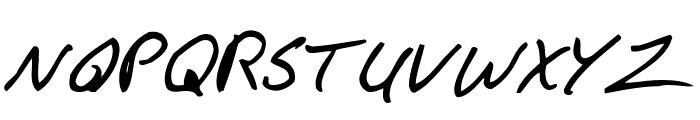 F*ck Beans Italic Font UPPERCASE