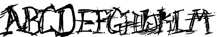 F'Donkulous Font UPPERCASE