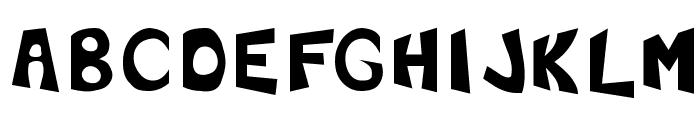 F'Earth Font UPPERCASE