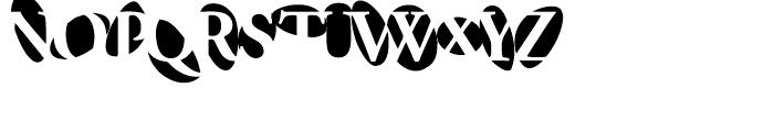 F2F Provinciali Regular Font UPPERCASE