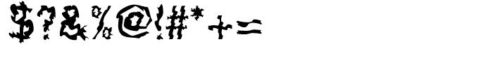 F2F Shakkarakk Regular Font OTHER CHARS