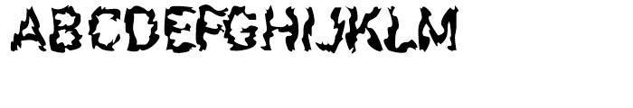 F2F Shakkarakk Regular Font UPPERCASE