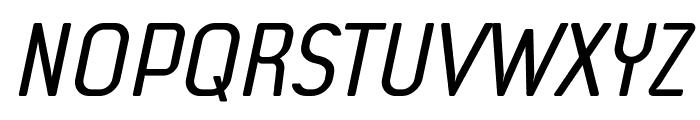 f3Secuenciaroundffp-Italic Font UPPERCASE