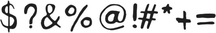 FATslim Medium otf (500) Font OTHER CHARS