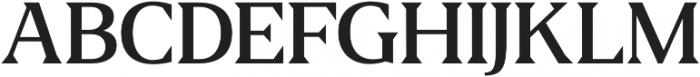 Fab otf (500) Font UPPERCASE