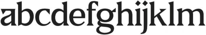 Fab otf (500) Font LOWERCASE