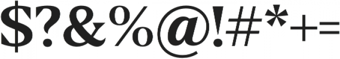 Fab otf (600) Font OTHER CHARS