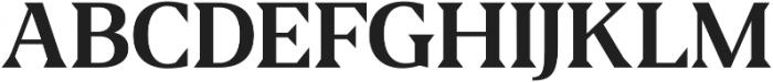 Fab otf (600) Font UPPERCASE