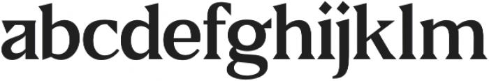 Fab otf (600) Font LOWERCASE