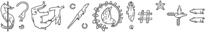 Fabel Line otf (400) Font OTHER CHARS